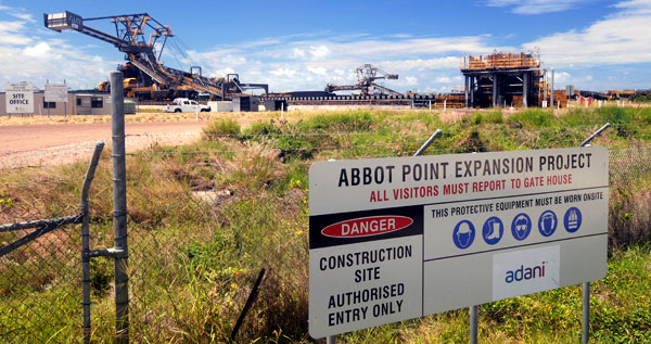 Abbot Point expansion project.